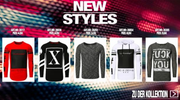Die neuen Styles von Baxmen