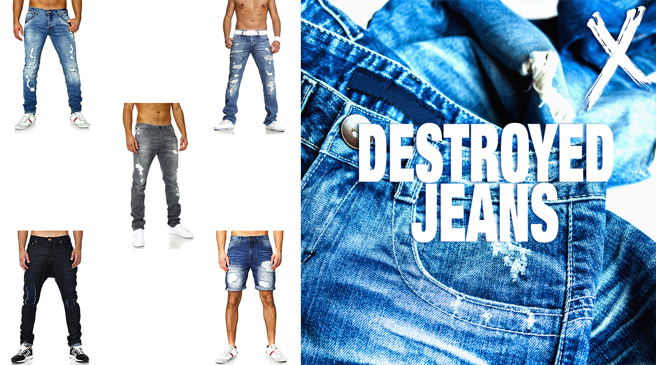 Trendcheck Destroyed Jeans