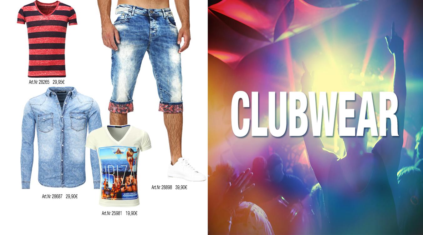 Clubwear für Männer