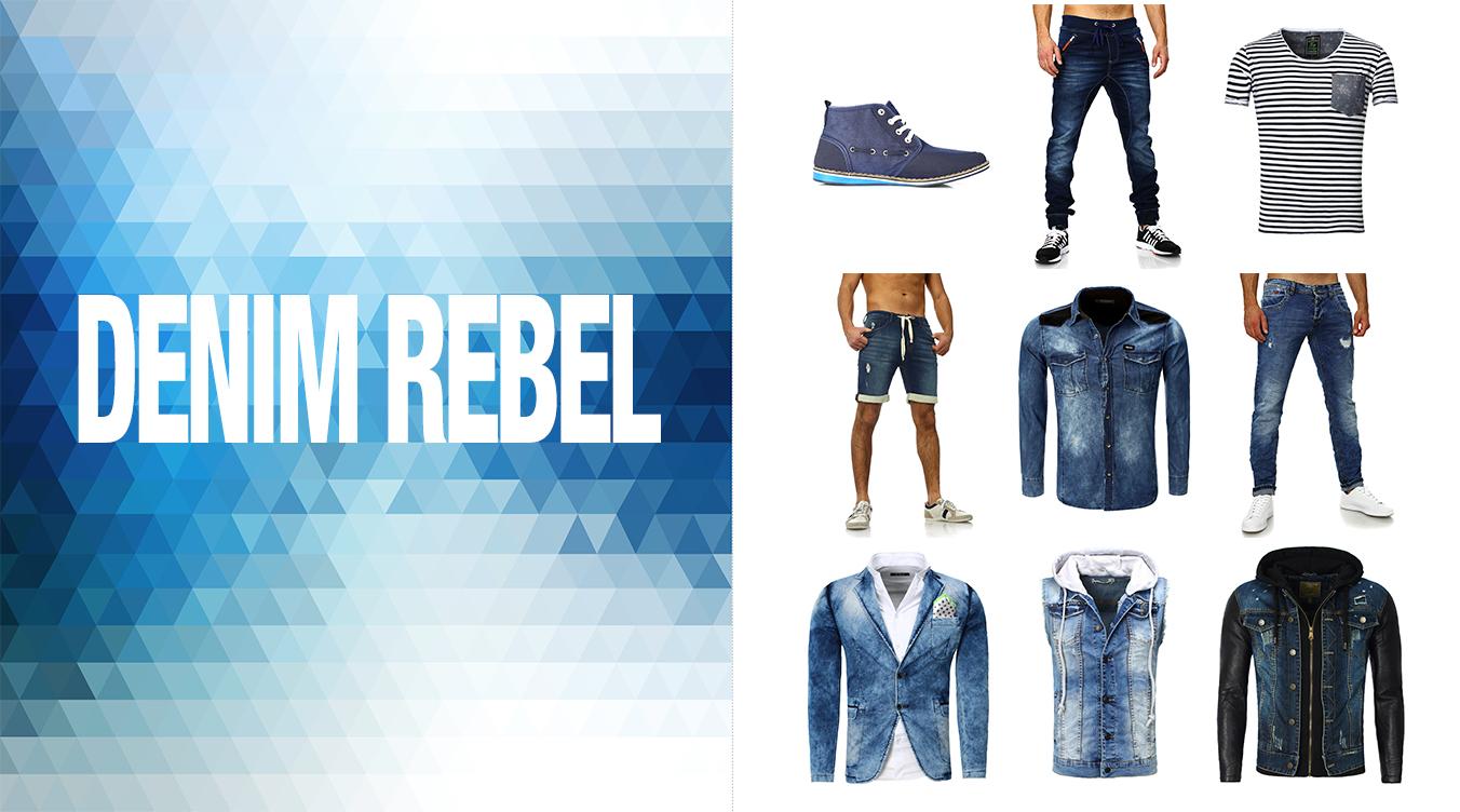 Jeanshosen und Jeans Sakkos für Männer