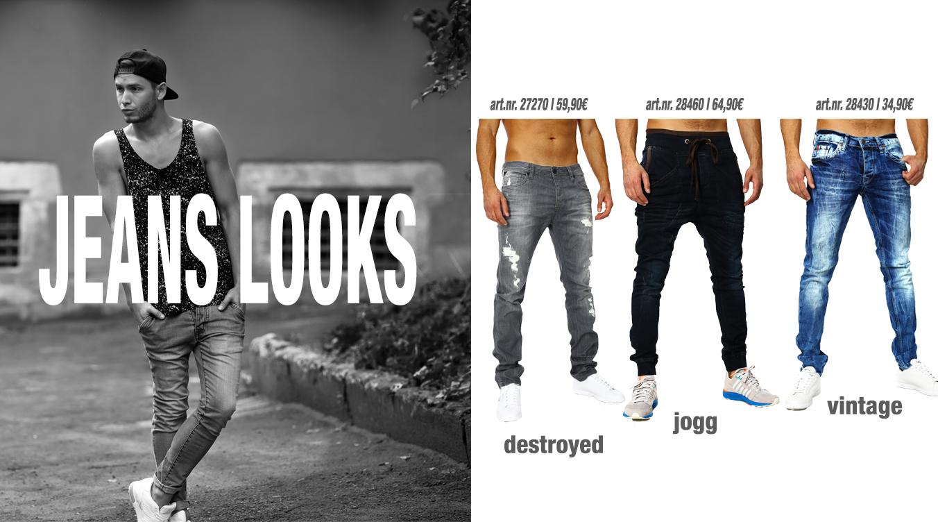 Designer Jeans Looks