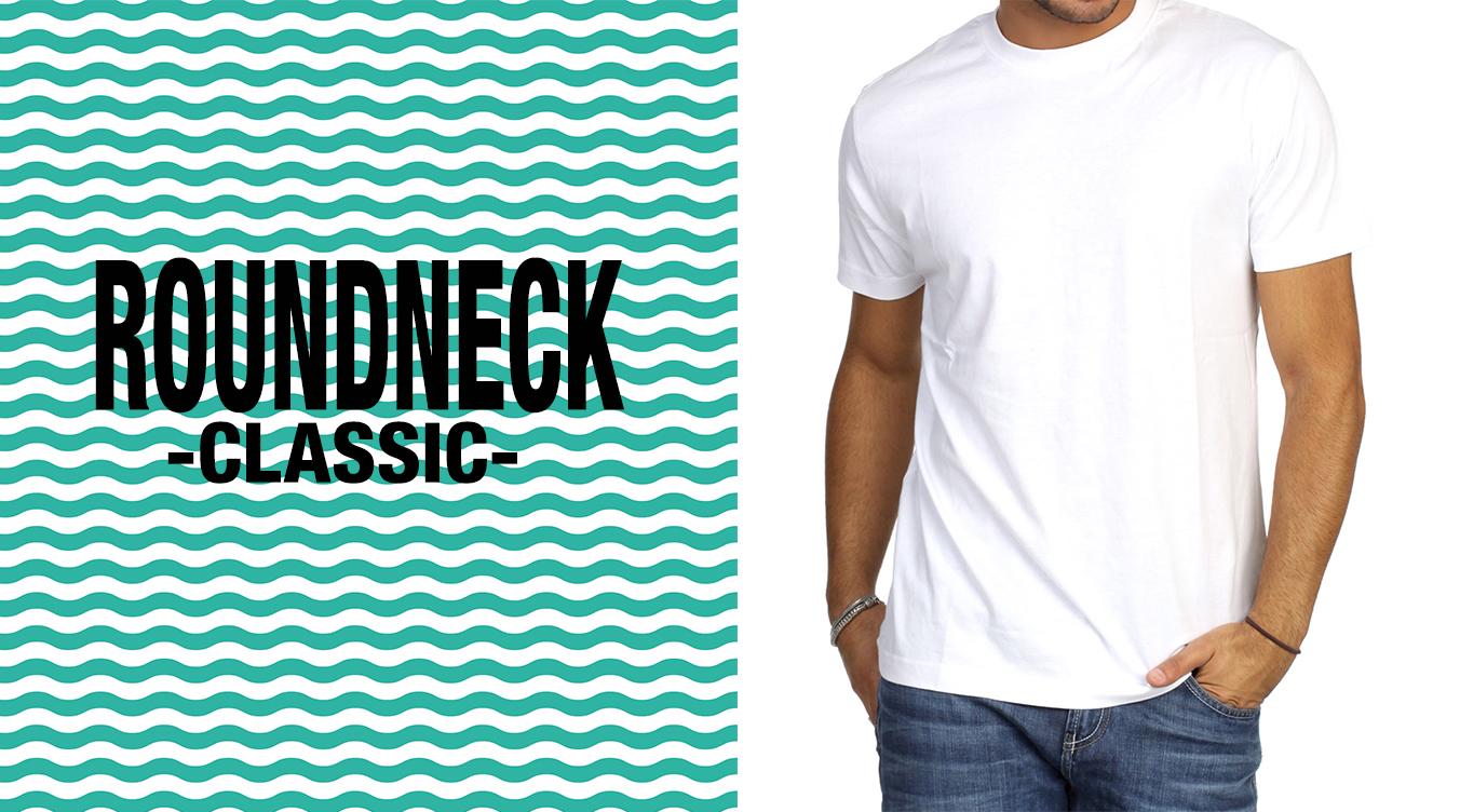 Klassiche Roundneck Herren T-Shirts