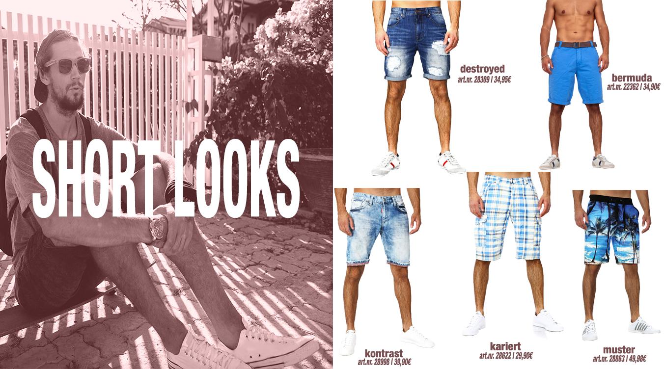 Denim Short Looks