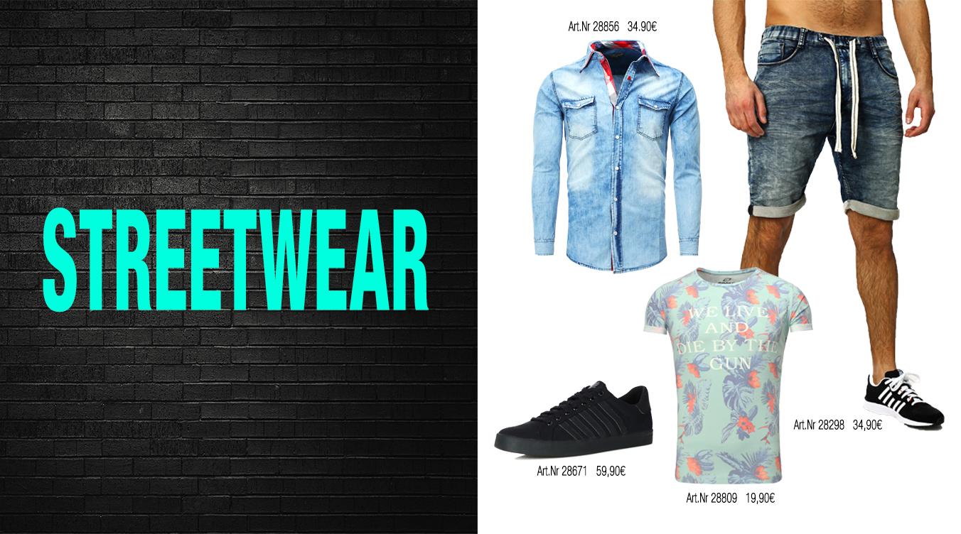 Streetwear für Männer