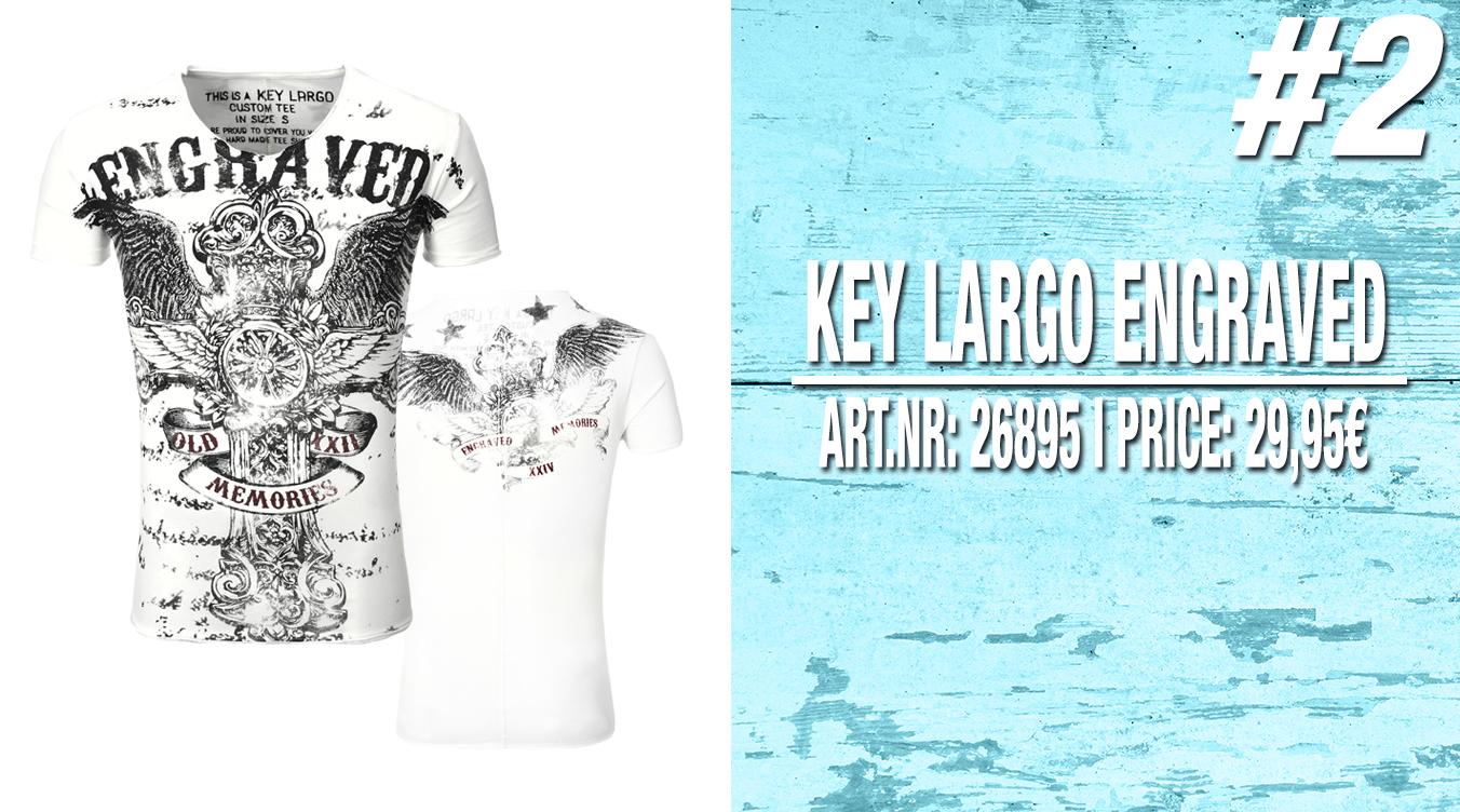 T-Shirts von Keylargo für Männer