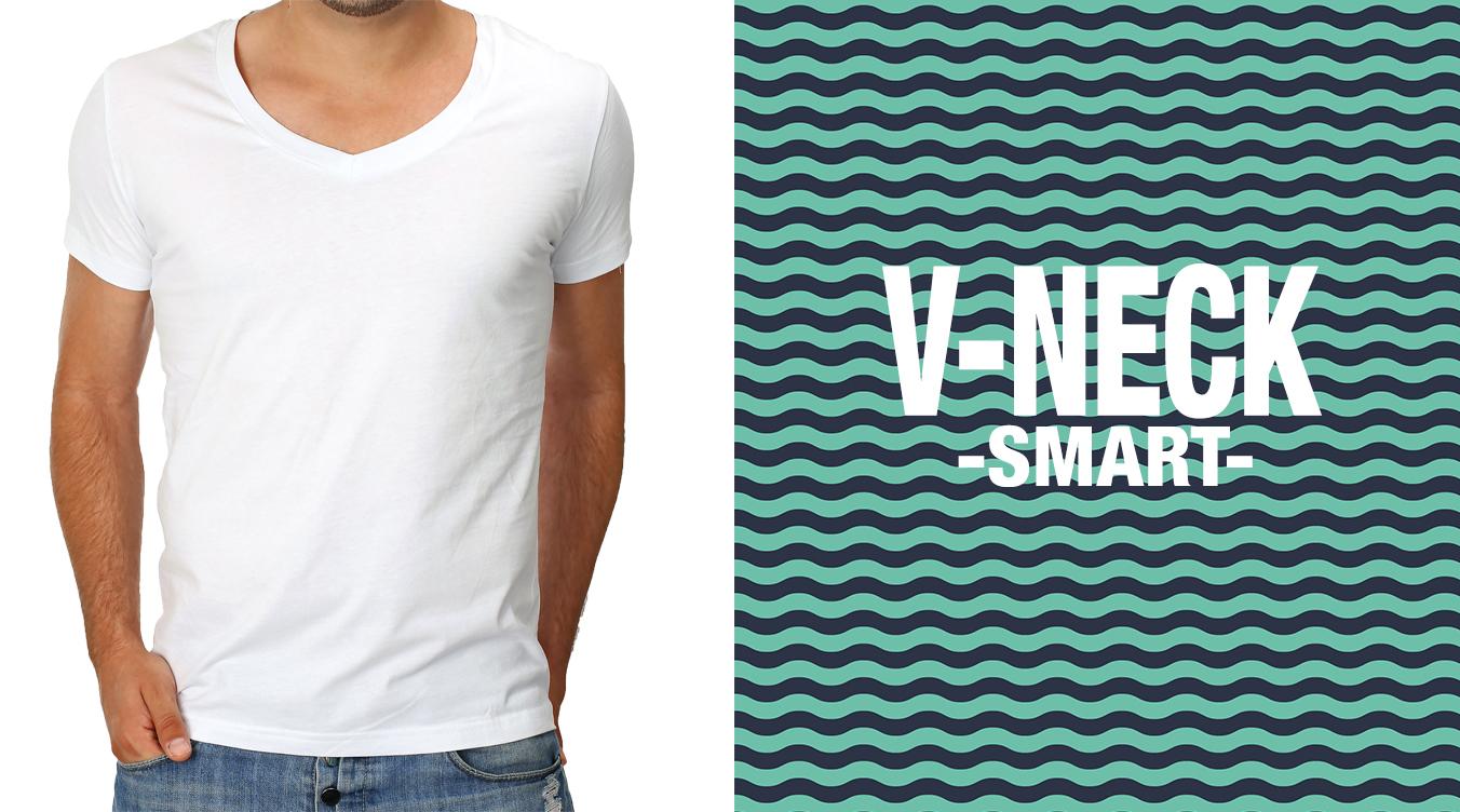 Jungen T-Shirts mit V-Neck