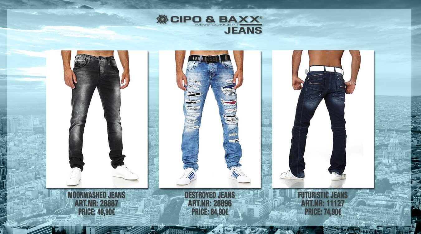 Herren Destroyed Jeans von Cipo&Baxx