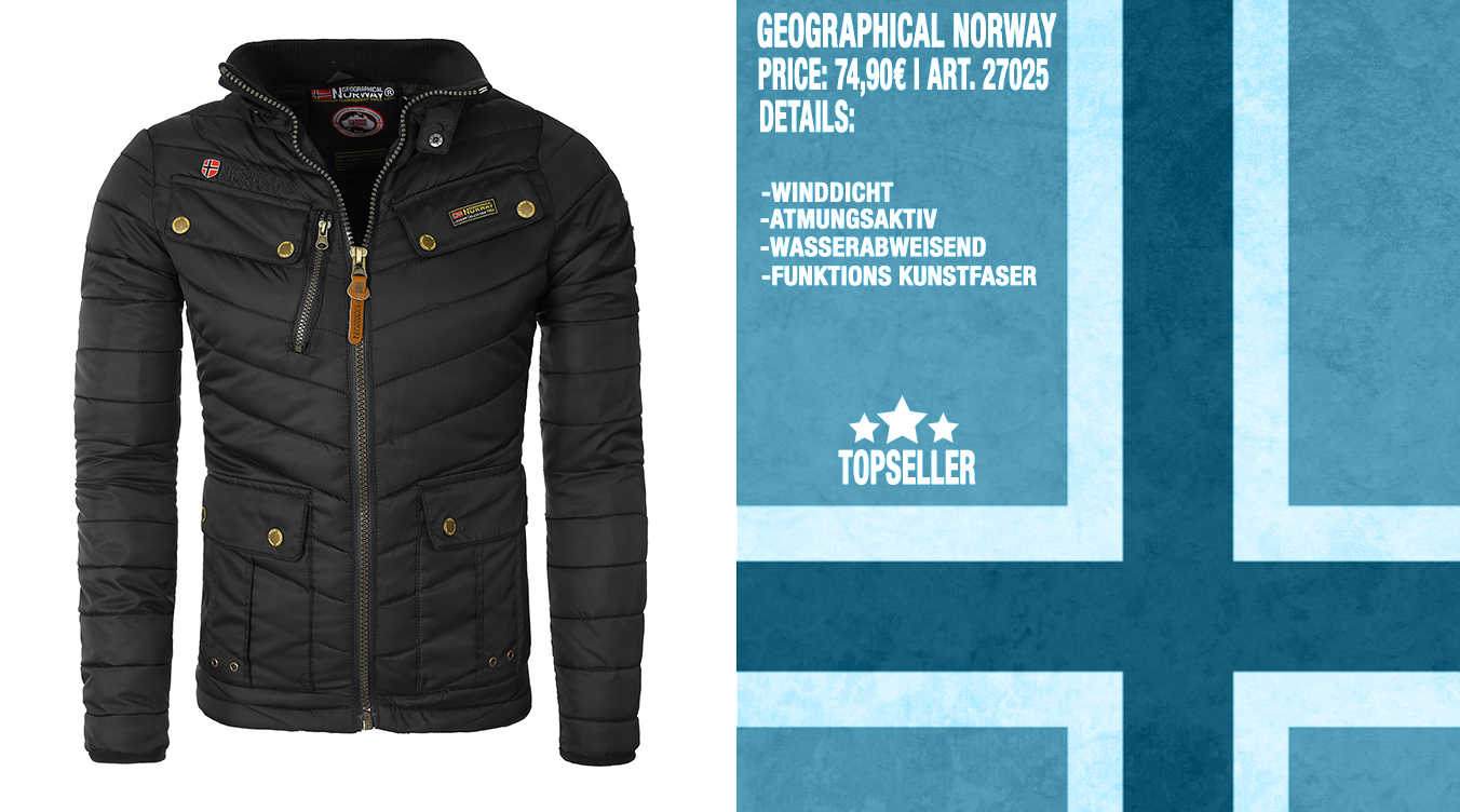 Winterjacke von Geographical Norway