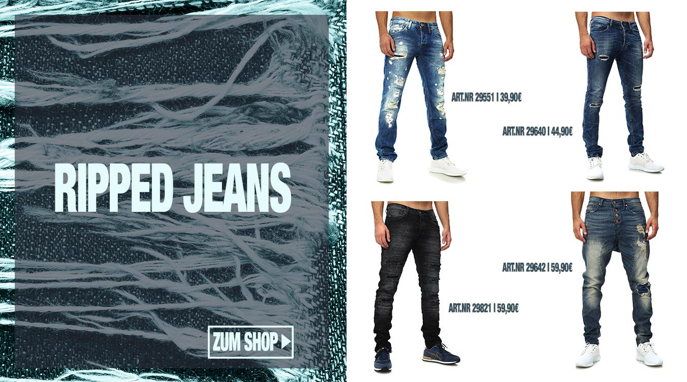 Ripped Jeans für Herren