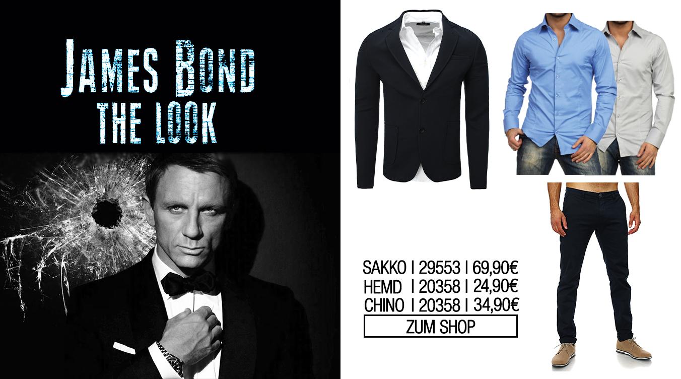 James Bond Look für Herren