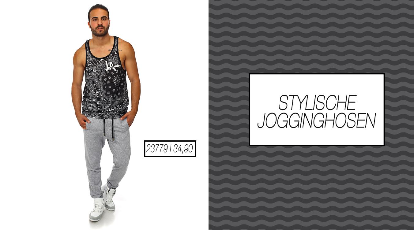 Stylische Streetwear Jogginghose
