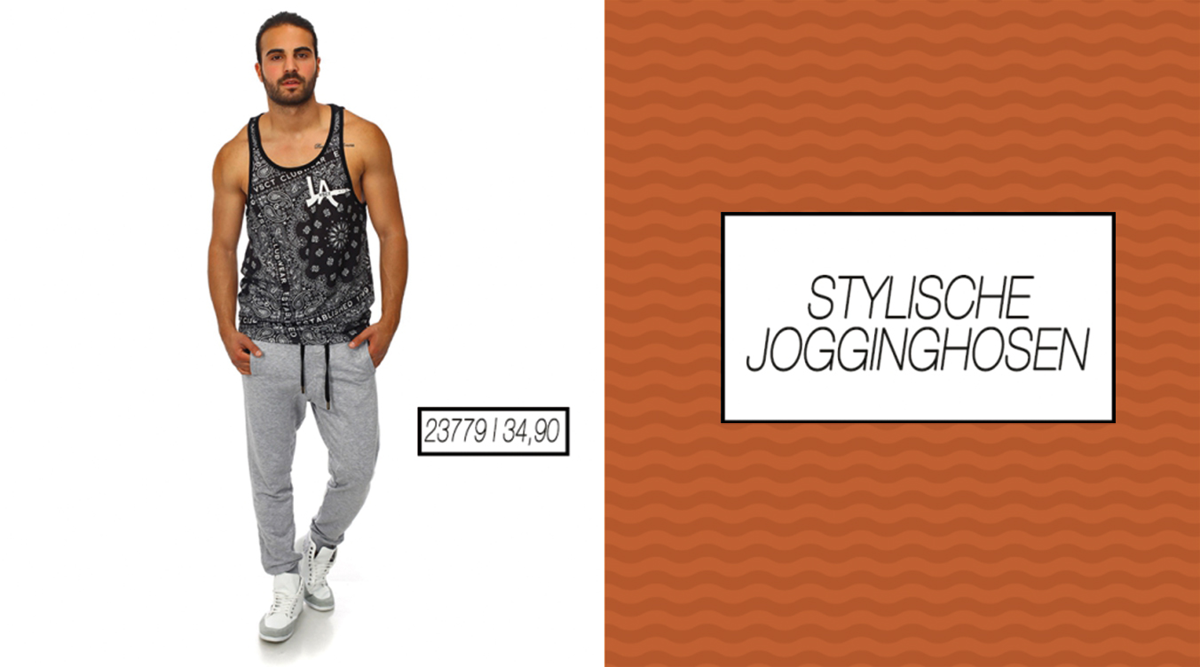 Stylische Jogginghose