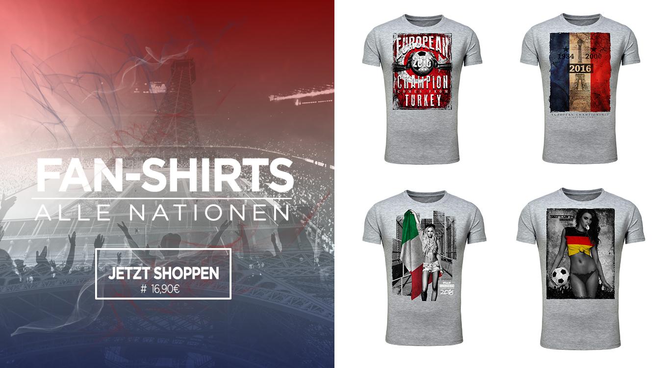 Em Fan T-Shirts Herren