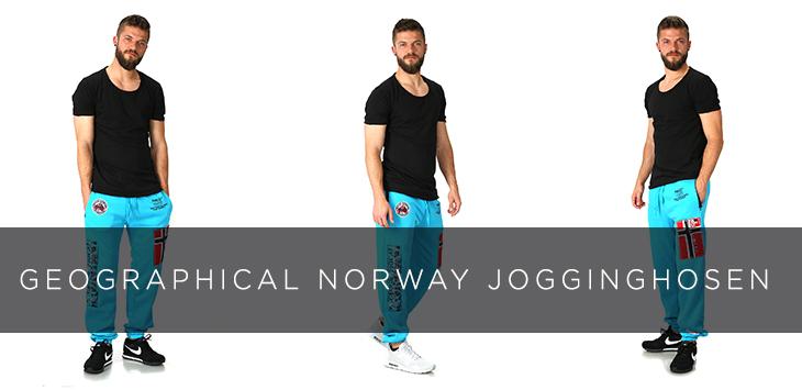 Geographical Norway Jogginghosen richtig kombinieren!