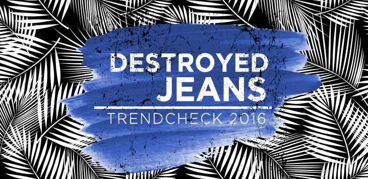 Destroyed Jeans – Wie Du sie perfekt kombinierst.