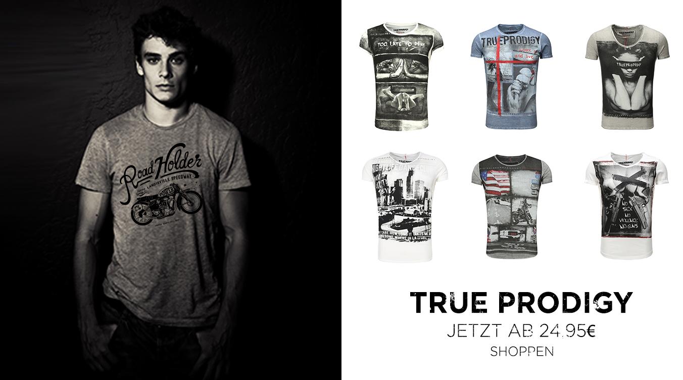 True Prodigy Herren Printshirts