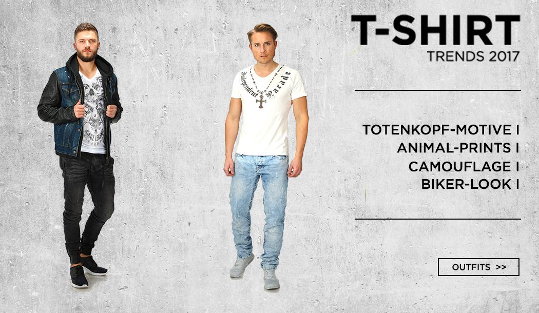 Herren T-Shirt Trends 2017
