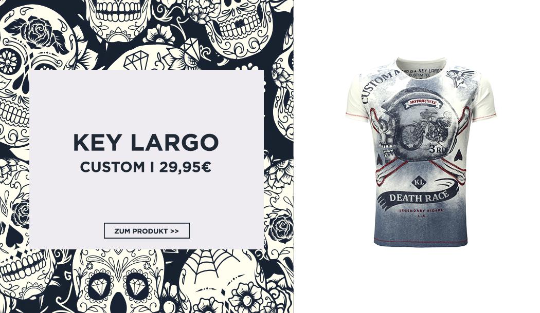 Totenkopf Motiv T-Shirt