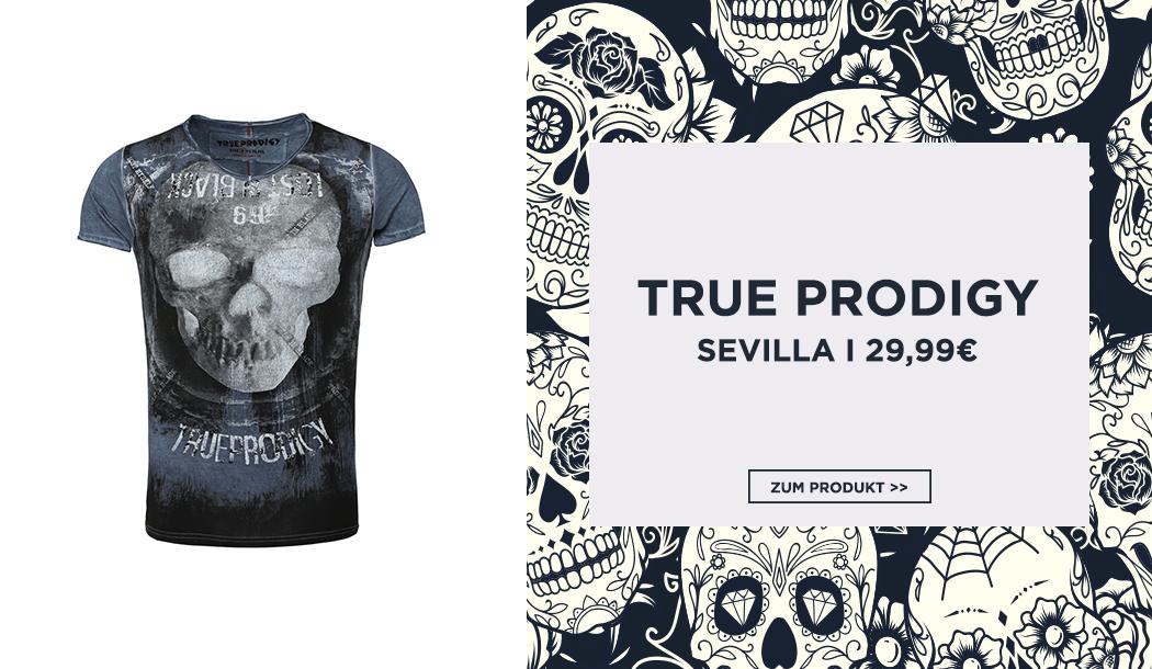 Herren T-Shirt mit Skull-Print