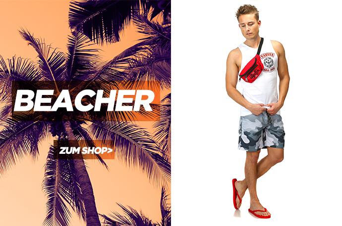 Strand Outfit für Männer