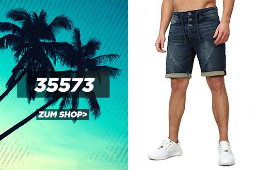 Sublevel Jogg-Denim Shorts