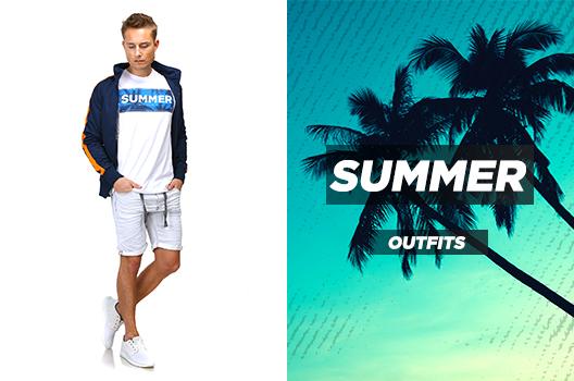 Männer Sommeroutfits mit Shorts